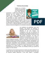 Problemas Del Aprendizaje 14