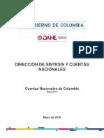 Cuentas Nacionales de Colombia