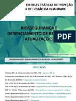 Biossegurança e Gerenciamento de Residuos