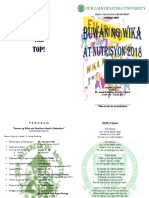1. Programme Buwan Ng Wika at Nutrisyon 18-19