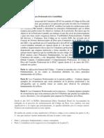 2. El Código de Ética IFAC