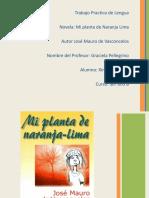 Presentacion Mi planta de naranja lima.pps