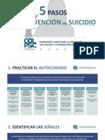 5 pasos para prevenir el suicidio