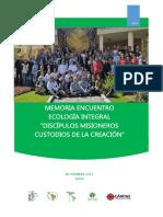 Memoria.ecologia.integral.noviembre.2017.Final