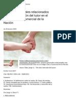 Asuntos Procesales Relacionados Con La Nominación Del Tutor en El Código Civil y Comercial de La Nación – AL DÍA _ ARGENTINA