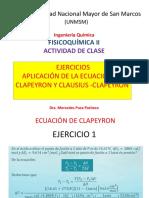 Clase 2 Seminario Sobre Ecuacion de Clapeyron y Clausius Clapeyron (1)