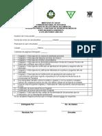 Formulario Recepcion de Documentos Concurso de Residencias Especialidades Generales y Medicos Extranjeros