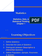 What is Statistical Thinking 100