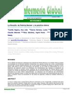 La Filosofia de Patricia Benner y La Practica Clin