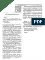 R-58-2016-SUNAFIL, Reglas Generales Fiscalización SST, El Peruano 29-04-2016 Versión 01