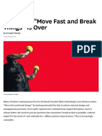 "The Era of ""Move Fast and Break Things"" is Over"