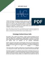 ARTURO CALLE Estrategias.doc