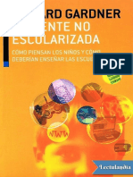 La mente no escolarizada - Howard Gardner.pdf