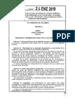 Ley 1952 del 28 de enero de 2019 - Nuevo Código General Disciplinario.pdf