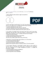 exercícios de conjuntos-diagrama de Venn