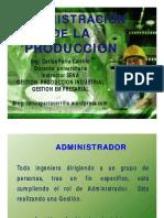 Introduccion Administracion de La Produccion