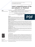 The Tuna Industry in Thailand