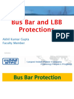 Bus bar protection