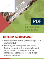 Christian Anthropology