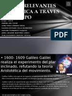tarea2 linea del tiempo de HECHOS RELEVANTES DE LA FISICA A TRAVES DELTIEMPO.pptx