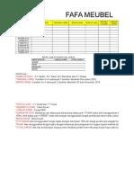 Cara Mengerjakan Soal CLCP Excel Fafa Meubeul Terbaru 2019.xlsx