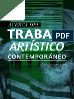 Acreca del Trabajo Artístico Contemporáneo (Elba Cervantes)