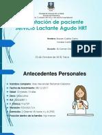 Presentación de Paciente Lactante Agudo