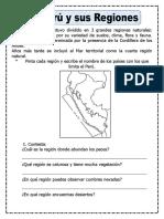 Las regiones del Perú