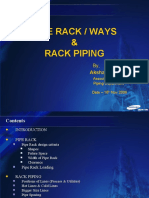 Pipe Rack & Rack Piping