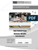 Prueba de Diagnostico_matematica 5