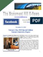 11.11.2010 Kiwanis Special Bulletin