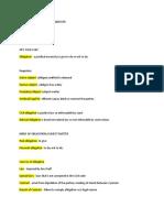 Oblicon Summary