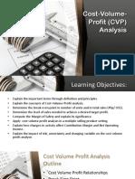 Group 2 Cost Volume Profit Analysis
