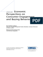 (Advances in Marketing Customer Relationship Management and E-services (AMCRMES) Book Series) Kaufmann, Hans Ruediger_ Panni, Mohammad Fateh Ali Khan - Socio-economic Perspectives on Consumer Engageme