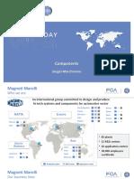 Components FCA Magneti Marreli