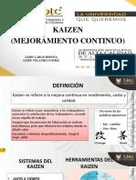 KAIZEN DIAPOSITIVAS