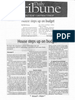 Daily Tribune, Sept. 20, 2019, House steps up on budget.pdf