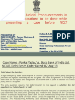 PPT-Judicial Pronouncement IBC CASE LAWS
