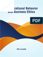 Organizational Behavior and Business Ethics