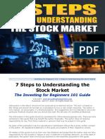 7 Steps to Understanding the Stock Market eBook v5