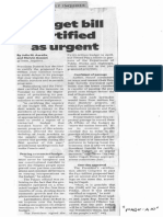 Philippine Daily Inquirer, Sept. 20, 2019, Budget bill certified as urgent.pdf