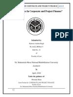 Corporate Finance Assingment