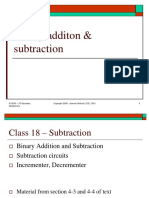 Lect 18 - Binary Addition and Subtraction.ppt
