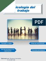 Revista psicologia delTrabajo