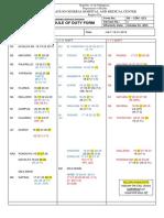 Schedule July 16-31