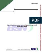 SNI 8198-2015 (Spesifikasi Campuran Beraspal Bergradasi Menerus-Laston)