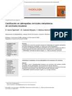 Calcificaciones metastasicas en radiografias
