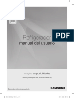 Samsung Rf28jbedbsg Manual de Usuario