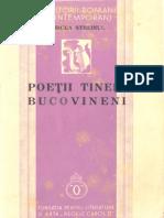 Mircea Streinul - Poeții tineri bucovineni - antologie
