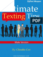 Ultimate Texting Tips Textweapon Male Version